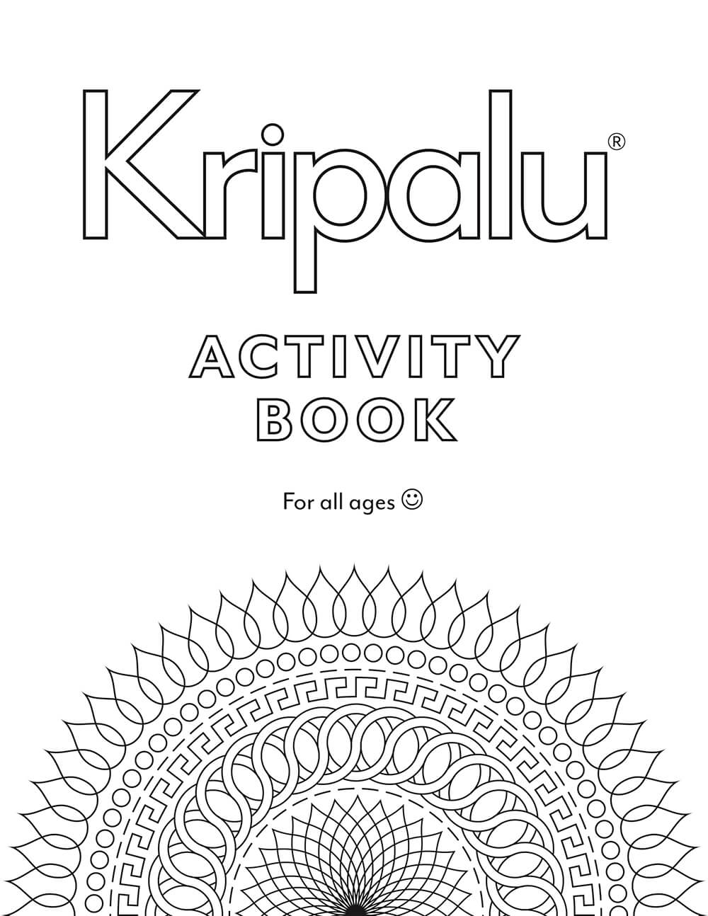 Kripalu Activity Book