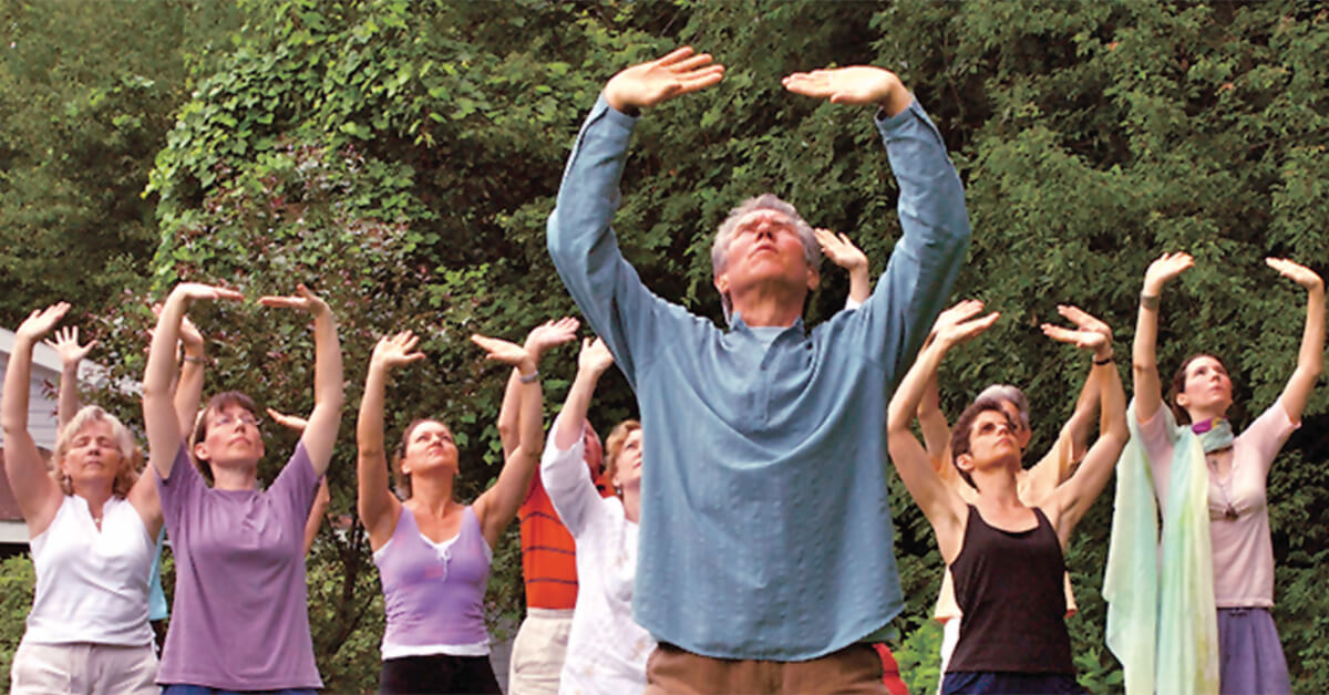 Qigong and Tai Chi Easy Master Stress, Enlighten the Mind, and Tap