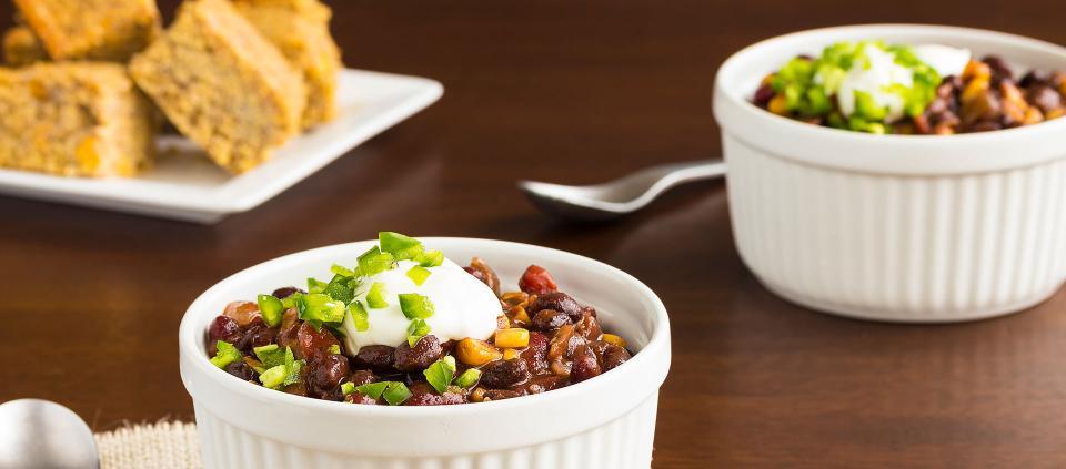 Kripalu Recipe Red And Black Bean Chili With Pan Cornbread Kripalu
