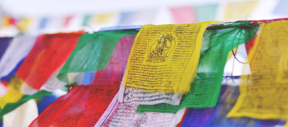 Blowing In The Wind The Sacred Symbolism Of Prayer Flags Kripalu