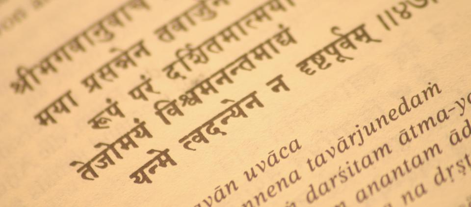 Why Sanskrit Matters A Q A With Nicolai Bachman Kripalu